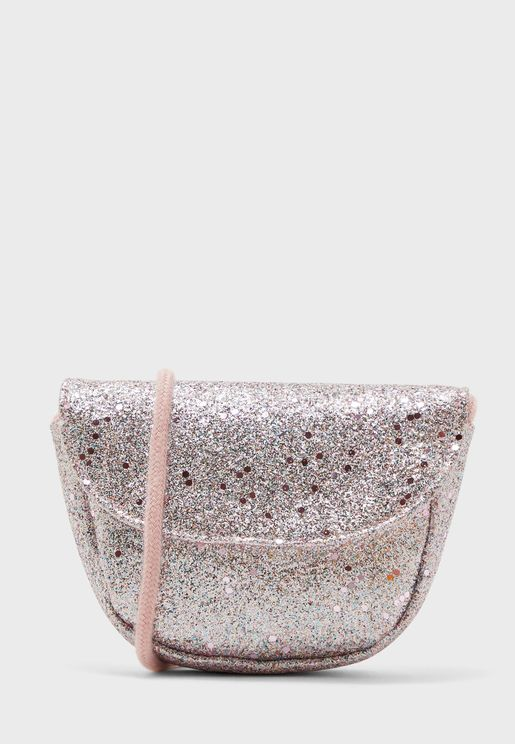 Kids Glitter Crossbody