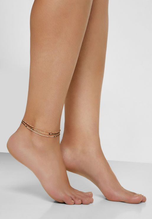 Multipack Eriosyce Anklets