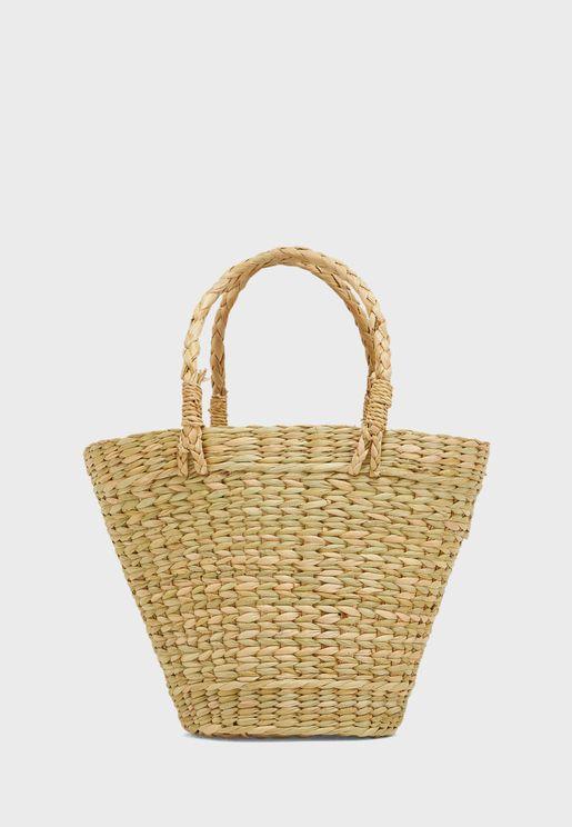 Singhi Straw Beach Shopper