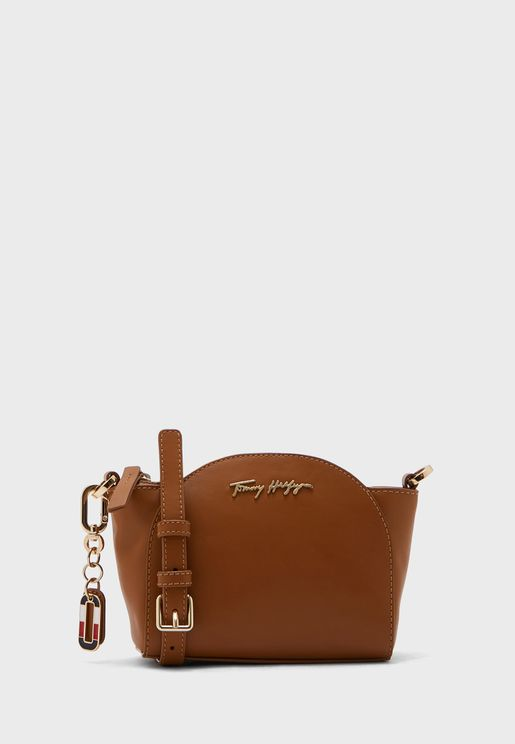 Luxe Leather Clutch Slim Strap