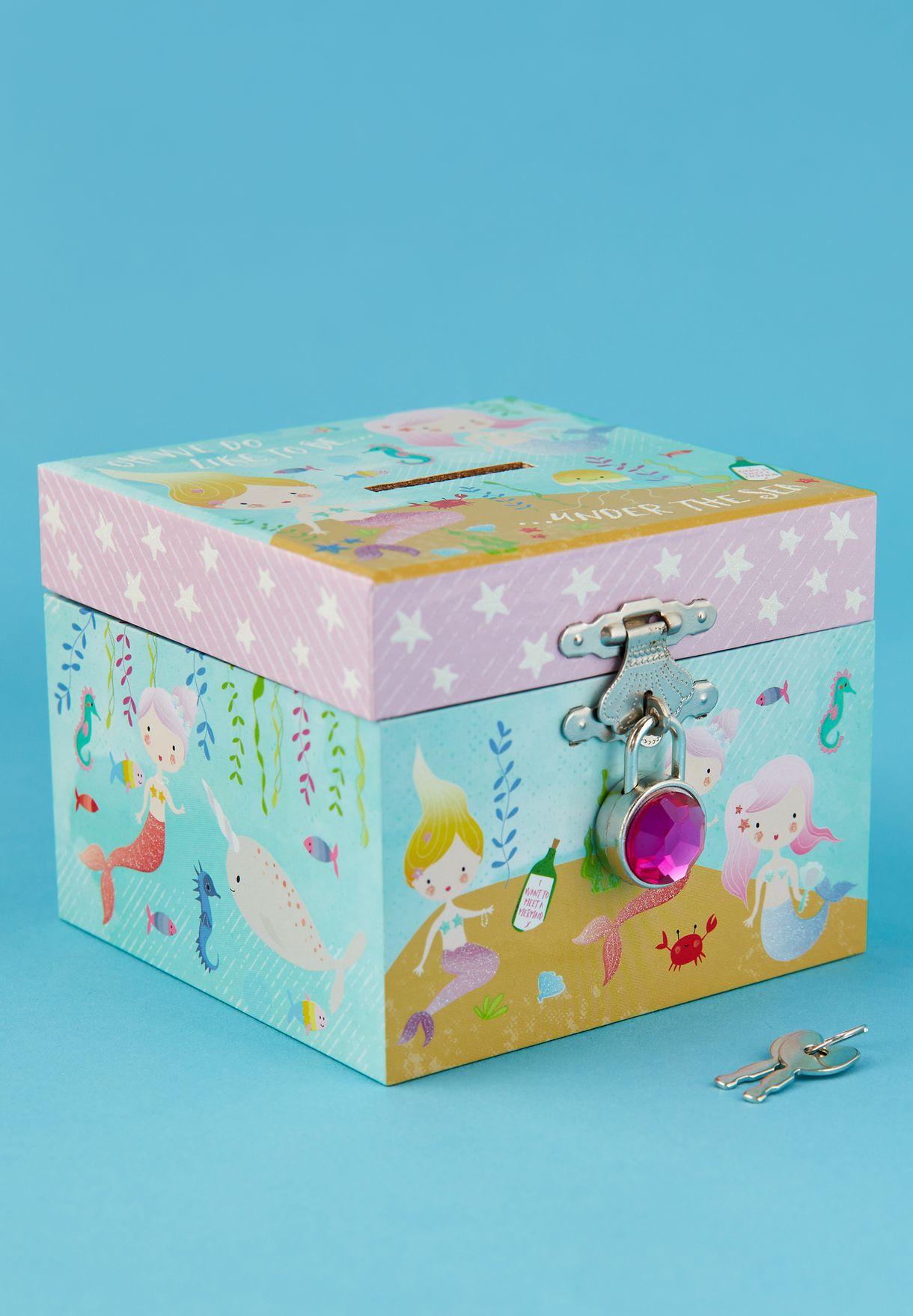 Mermaid Money Box