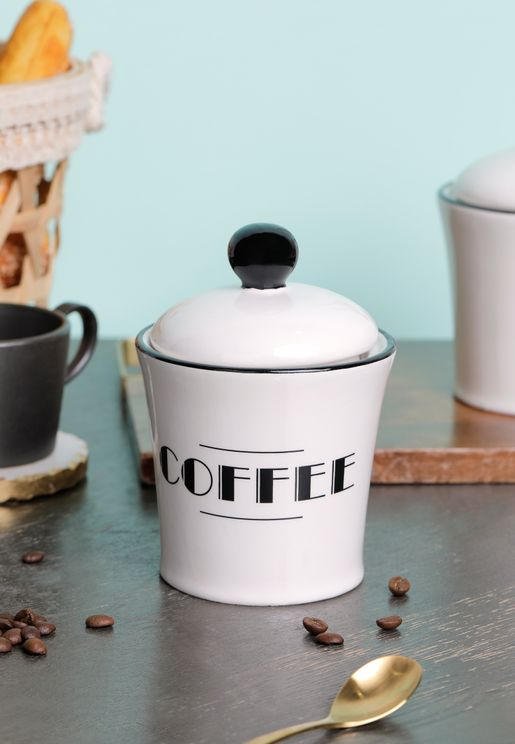 Broadway Coffee Canister