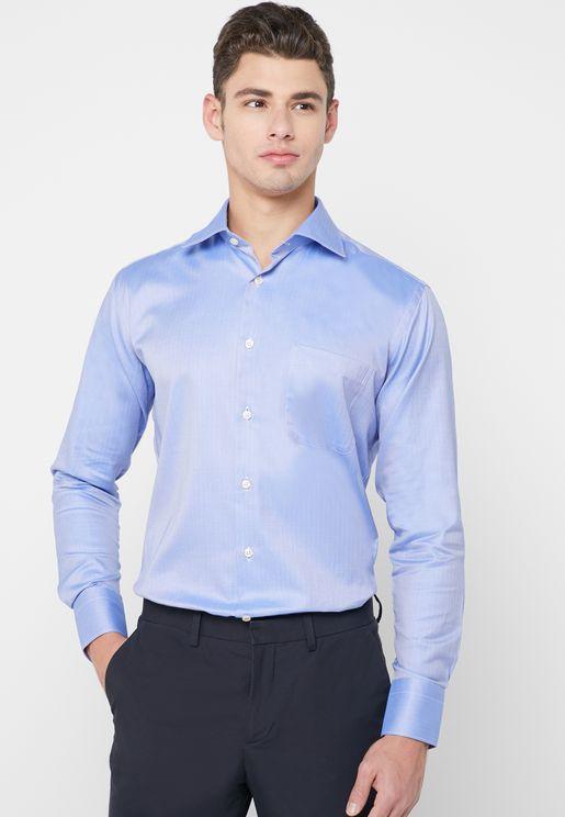Knitted Regular Fit Shirt