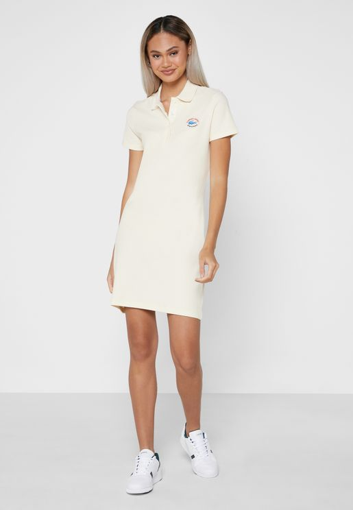 Polo Knitted Dress