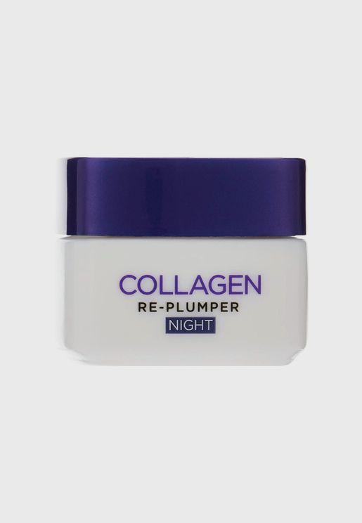 Collagen Re-Plumper Anti-Aging Night Cream