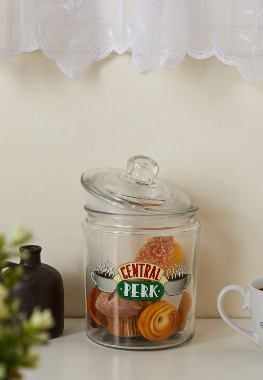 Friends Central Perk Ceramic Cookie Jar