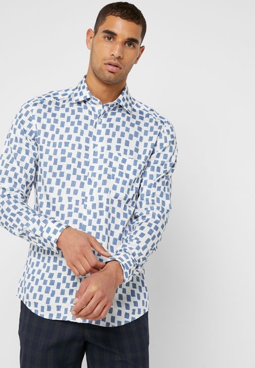 Glade Rectangle Print Shirt
