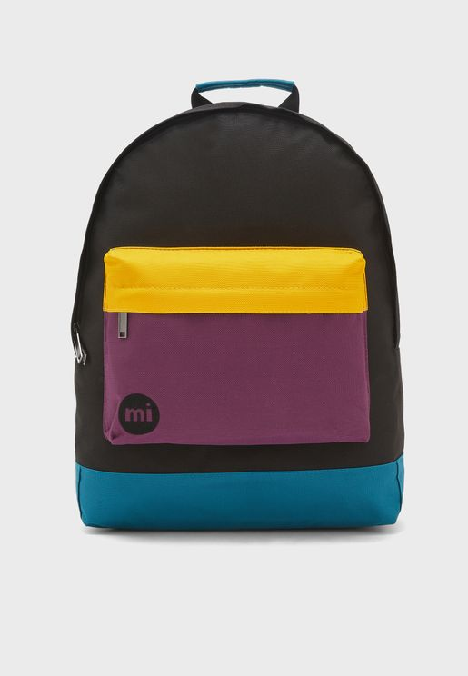 Classic Colourblock Backpack