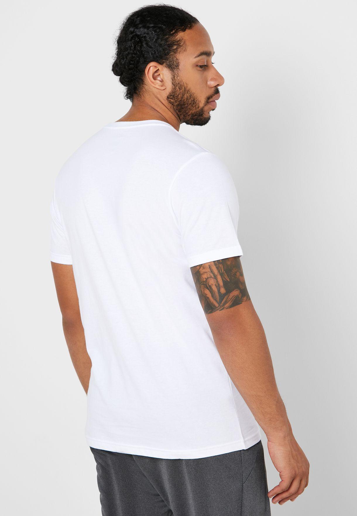 DNA Spiral Graphic T-Shirt