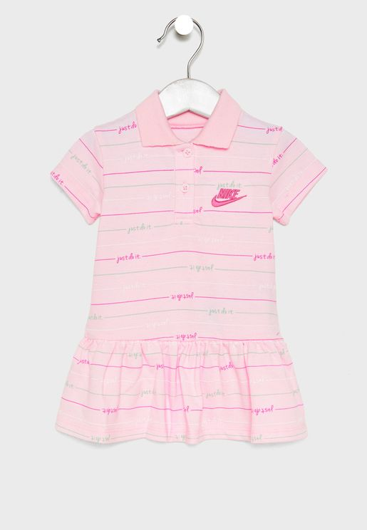 Infant Stripe Polo Dress