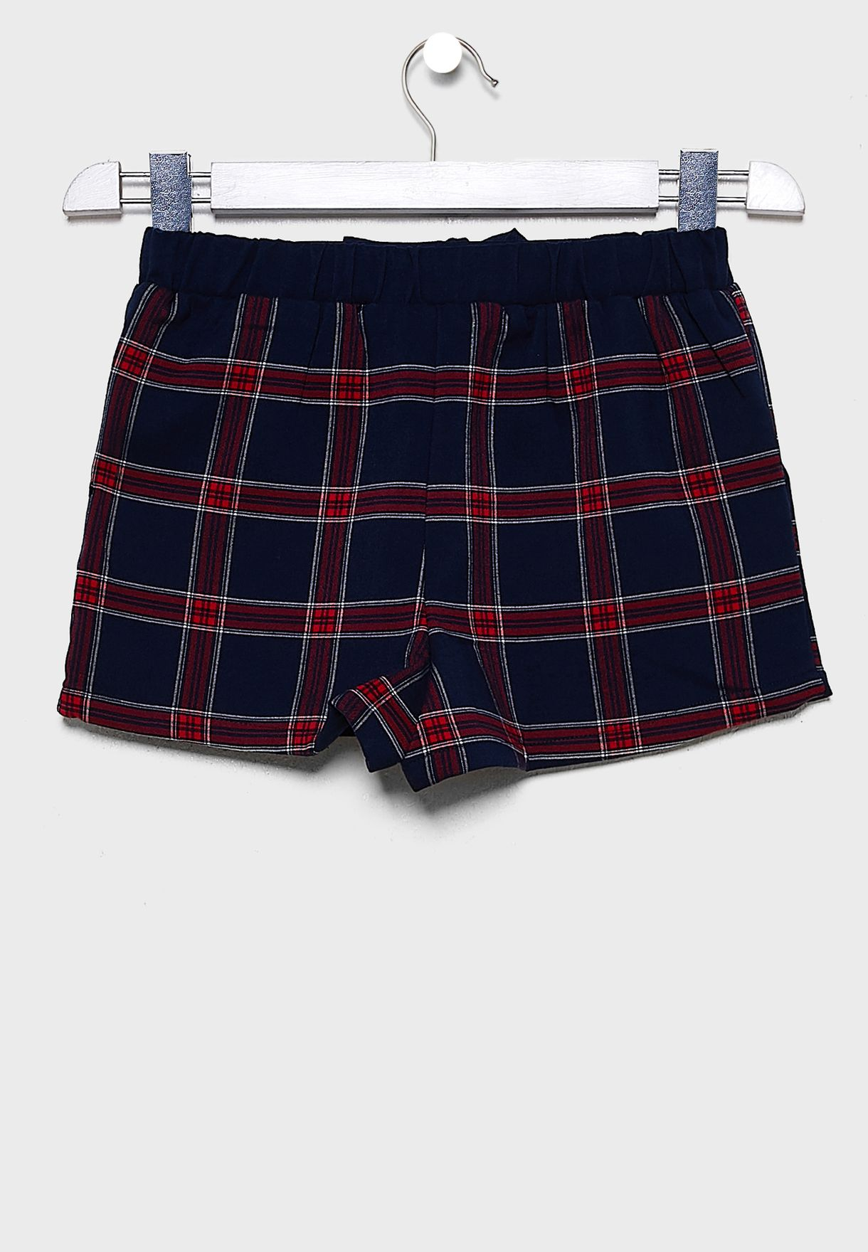 Teen Checked Shorts