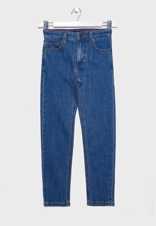 Kids Modern Tapered Jeans