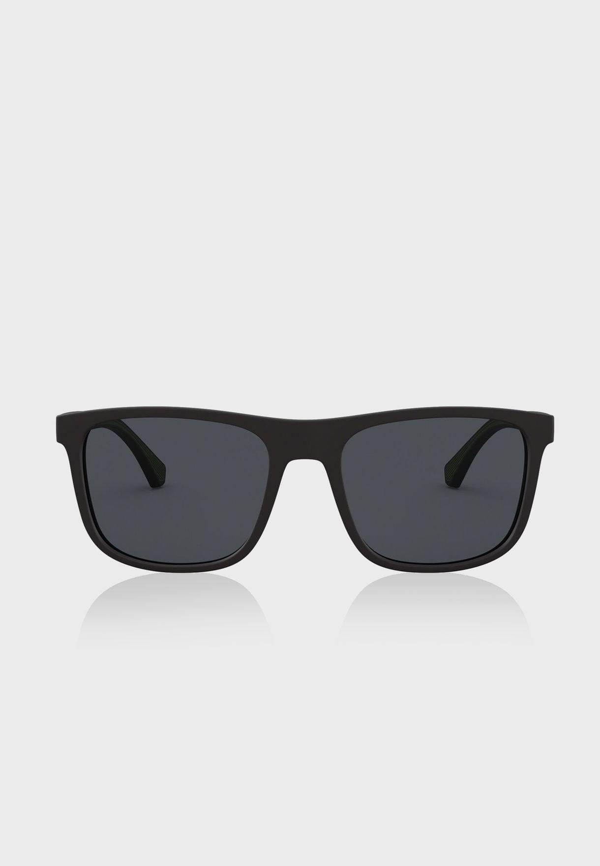 0EA4129 Shape Sunglasses