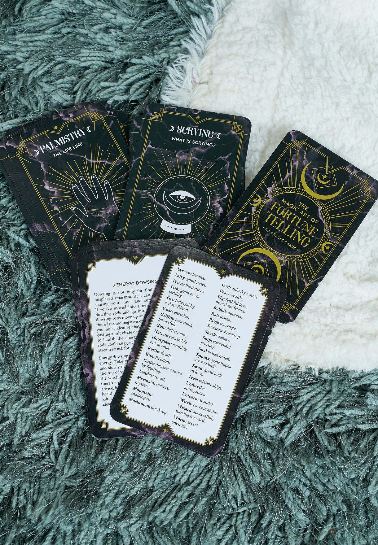 The Magic Art Of Fortune Telling Cards