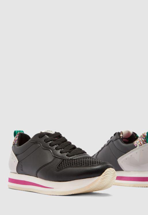 Sillie Block Sneaker