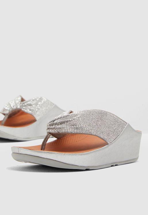 Twiss Toe-Thong Sandal