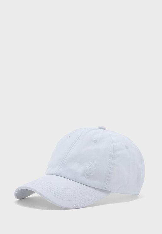 Distressed Casual Cap