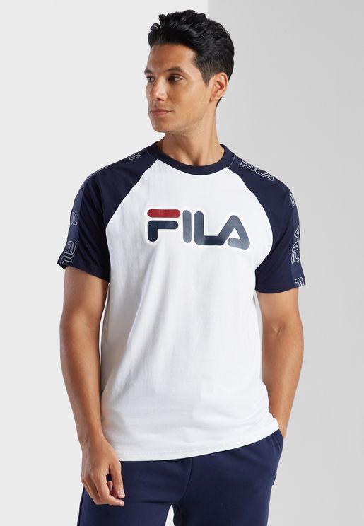 Logo Tape Raglan T-Shirt