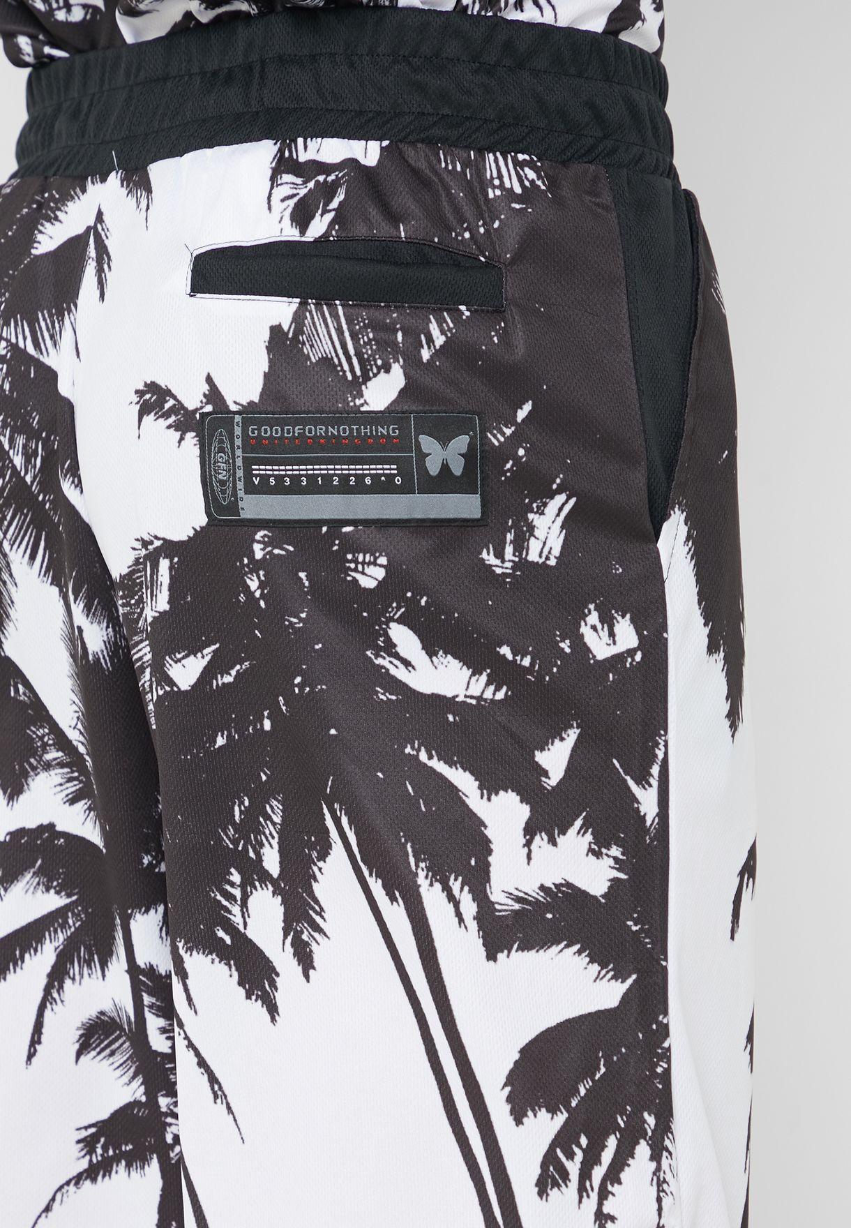 Palm Mesh Shorts