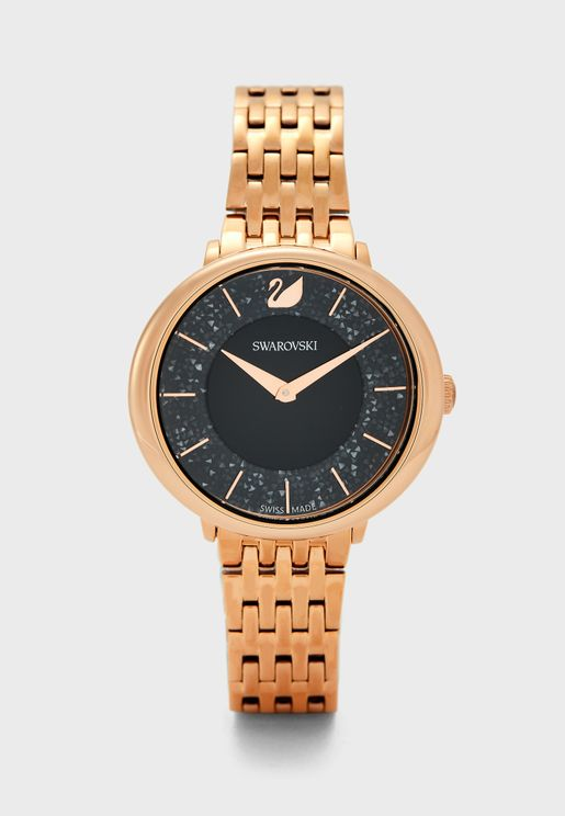 Crystalline Chic Analog Watch