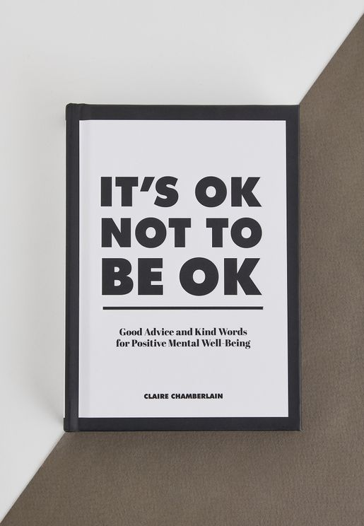 It's Ok Not To Be Ok Book