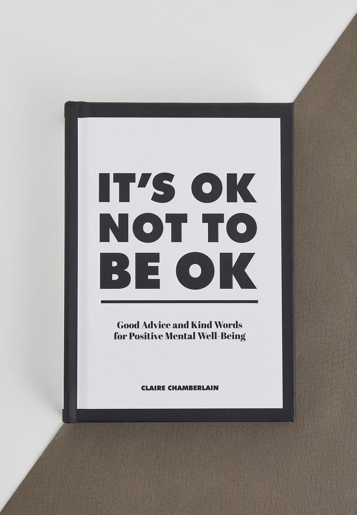"كتاب ""It's OK  OK Not to Be OK"""