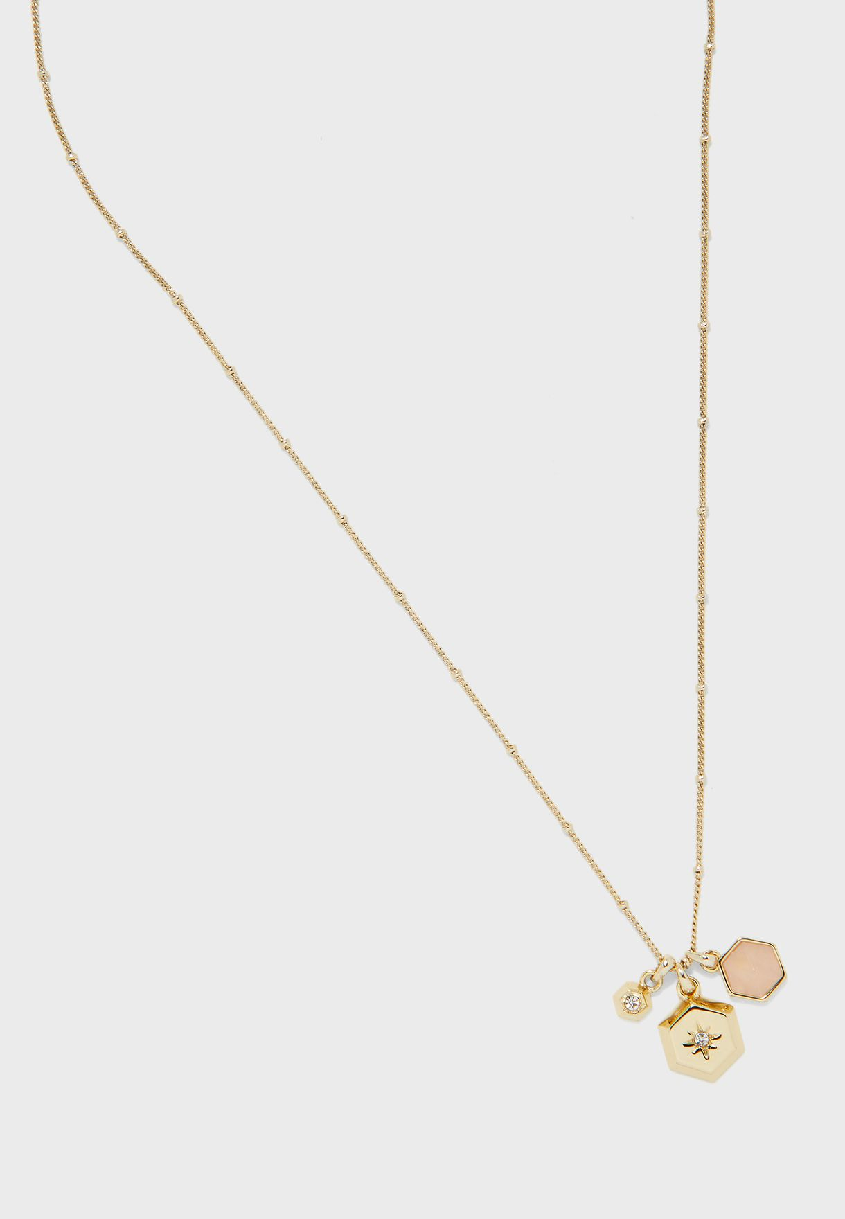 Muse Cluster Pendant Necklace