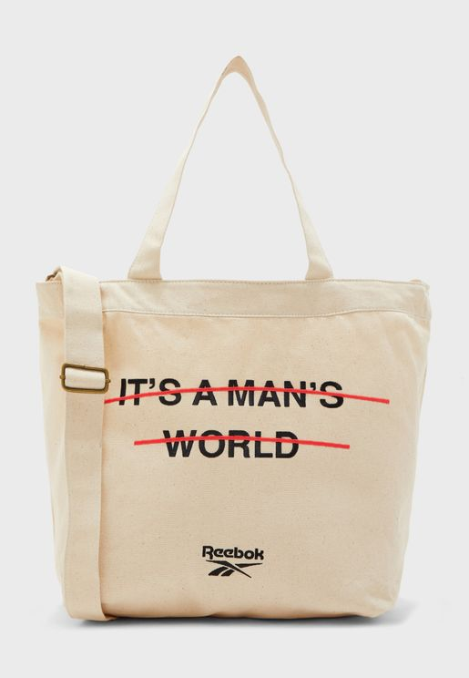 It's A Man's World Tote