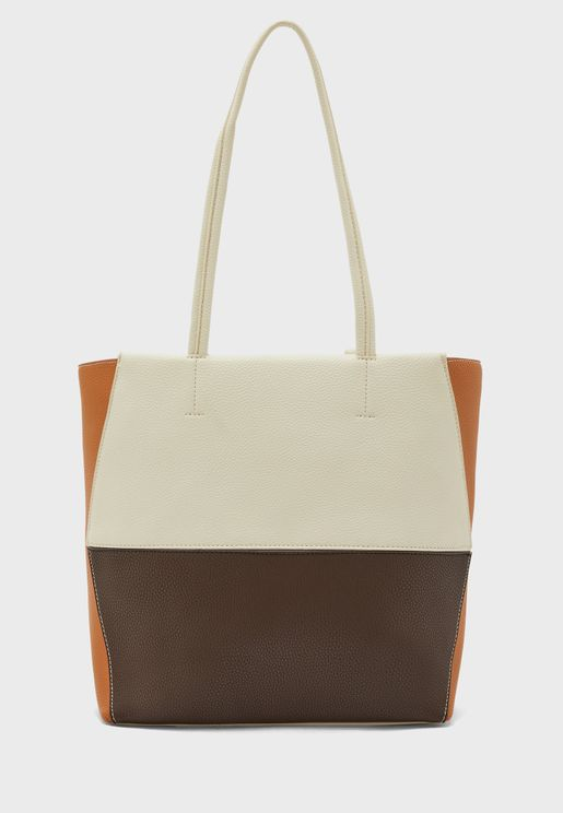 Mast Harbour Color Block Tote