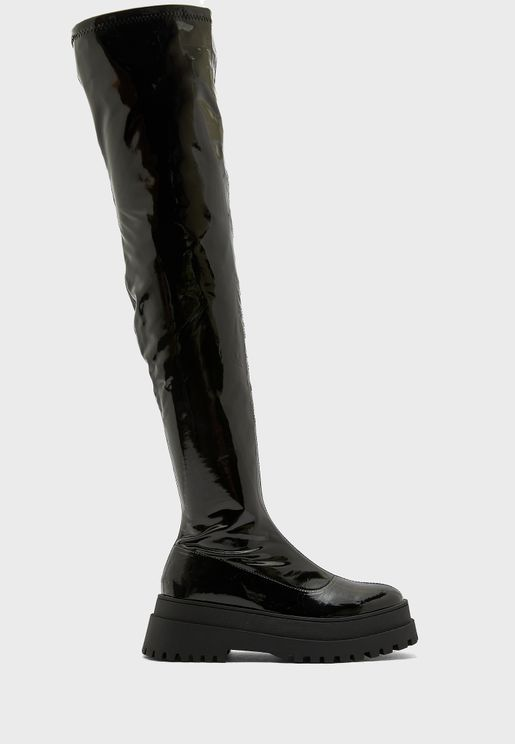 Disclosure Knee Boot