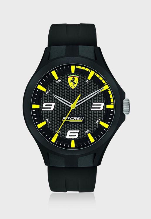 830675 Pitcrew Analog Watch