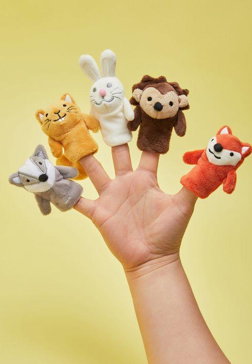 دمى اصابع بشكل حيوانات