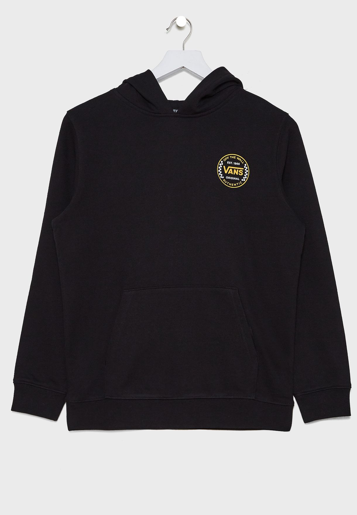 Youth Authentic Checker Hoodie