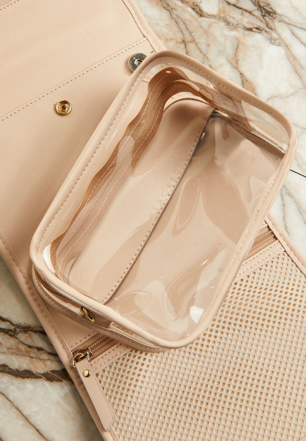 Multi Purpose Small Hanging Travel Wash Bag