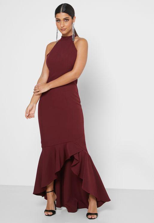 فستان بنمط حورية البحر