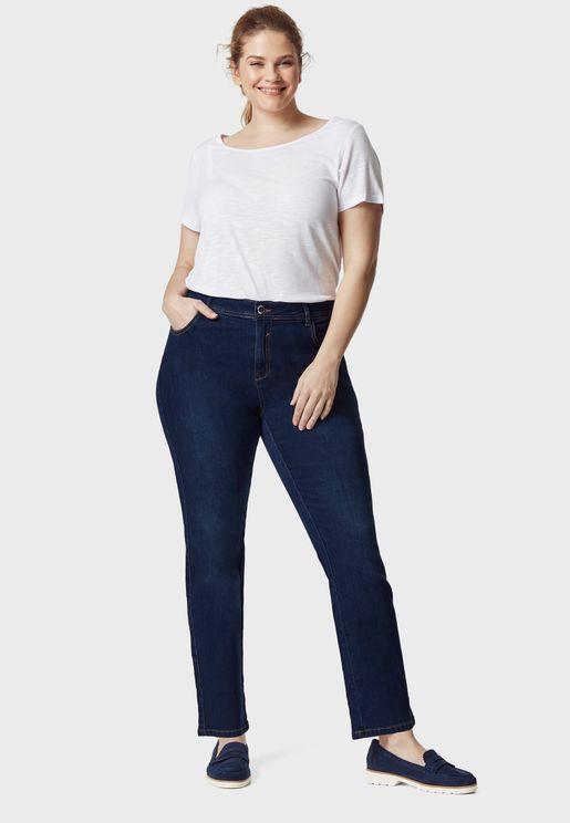 Midwash Straight Jeans