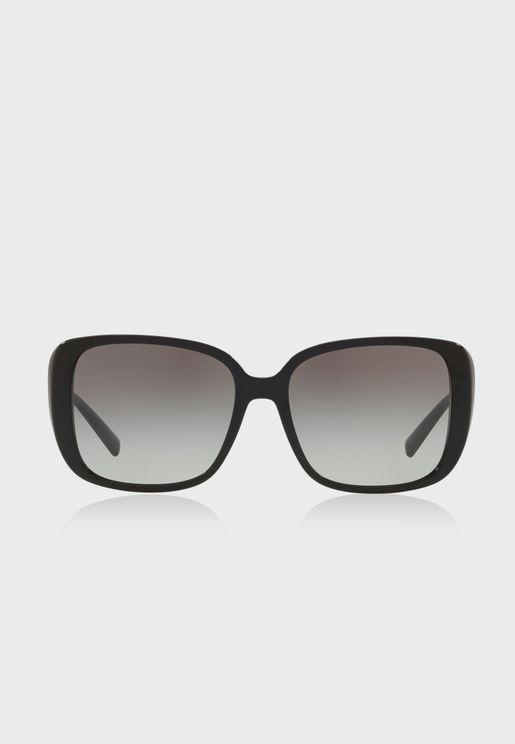 نظارة شمسية بشكل عين القطة 0VE4357