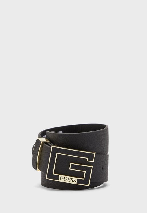 Casual Logo Detail Belt