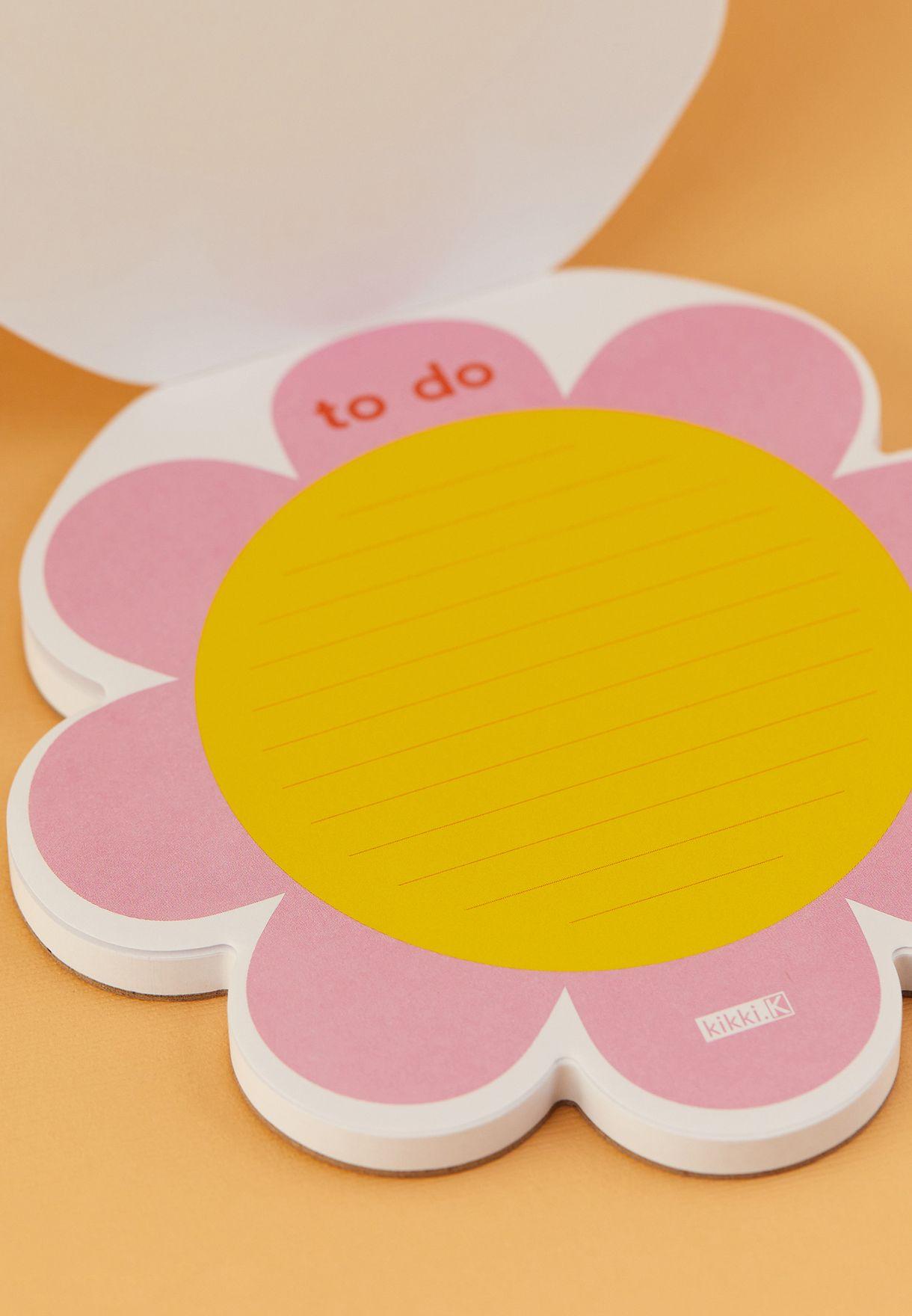 دفتر شكل وردة