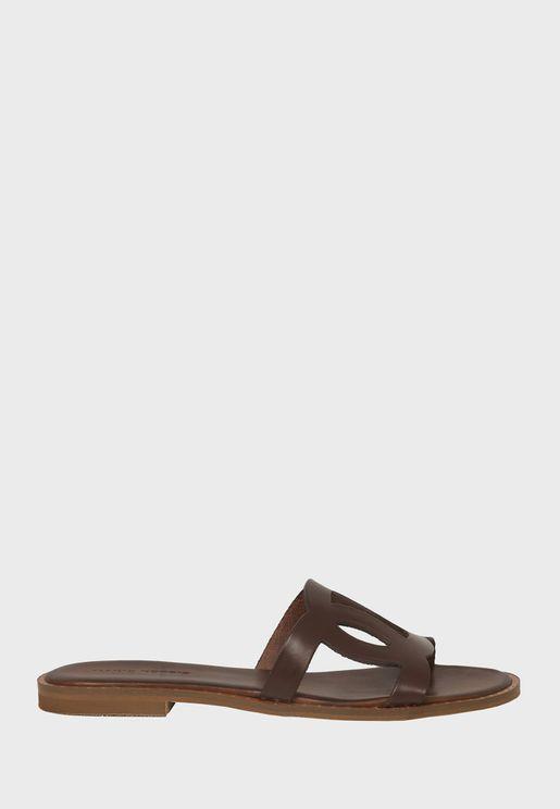 Single Strap Flat Sandal