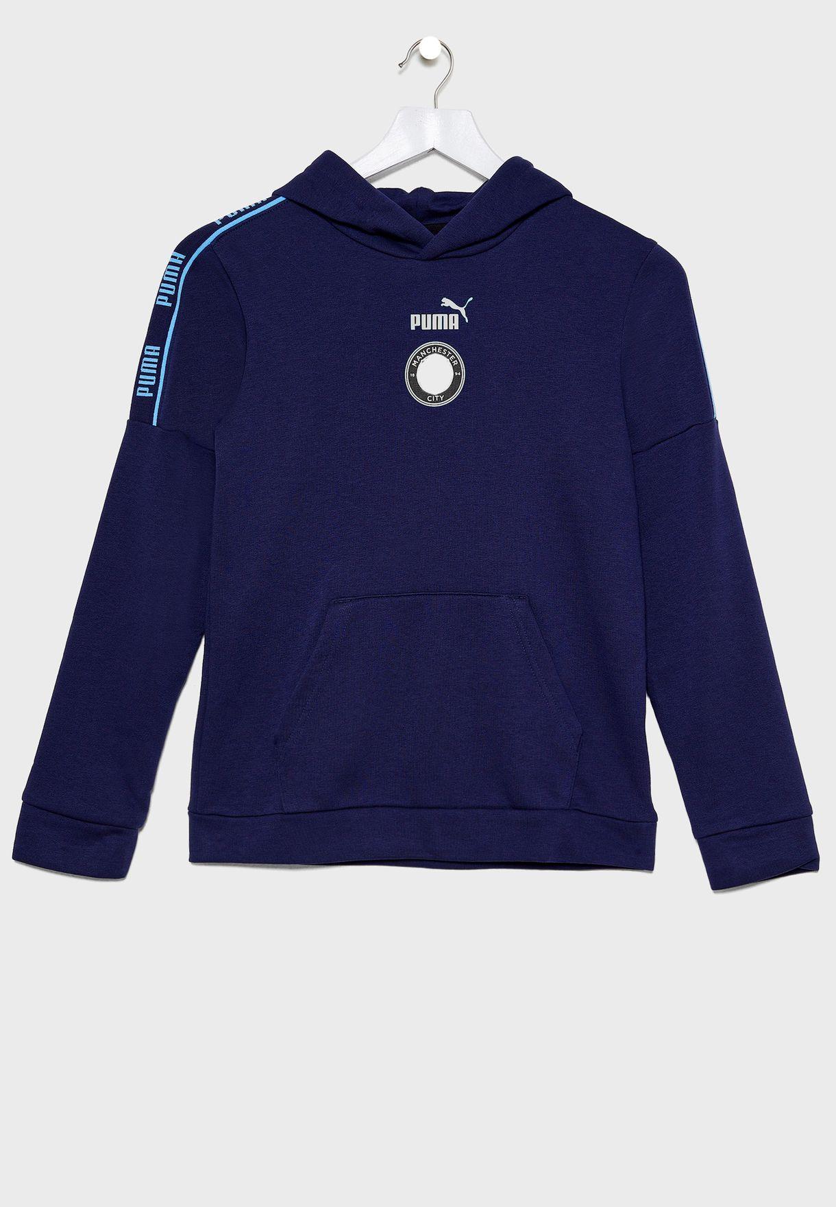 Kids Manchester City ftblCulture Hoodie