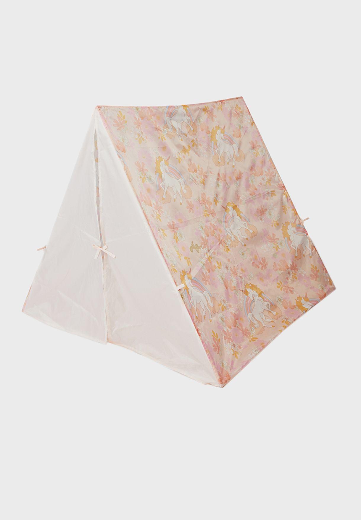 Kids Unicorn Print Play Tent