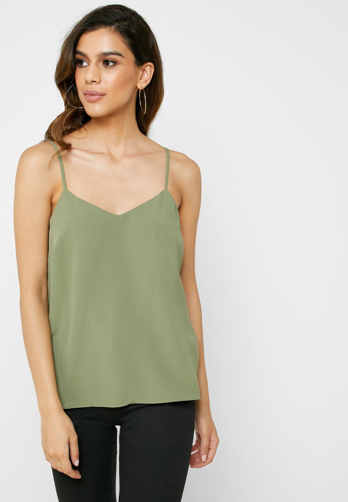 Cross Back Cami Top