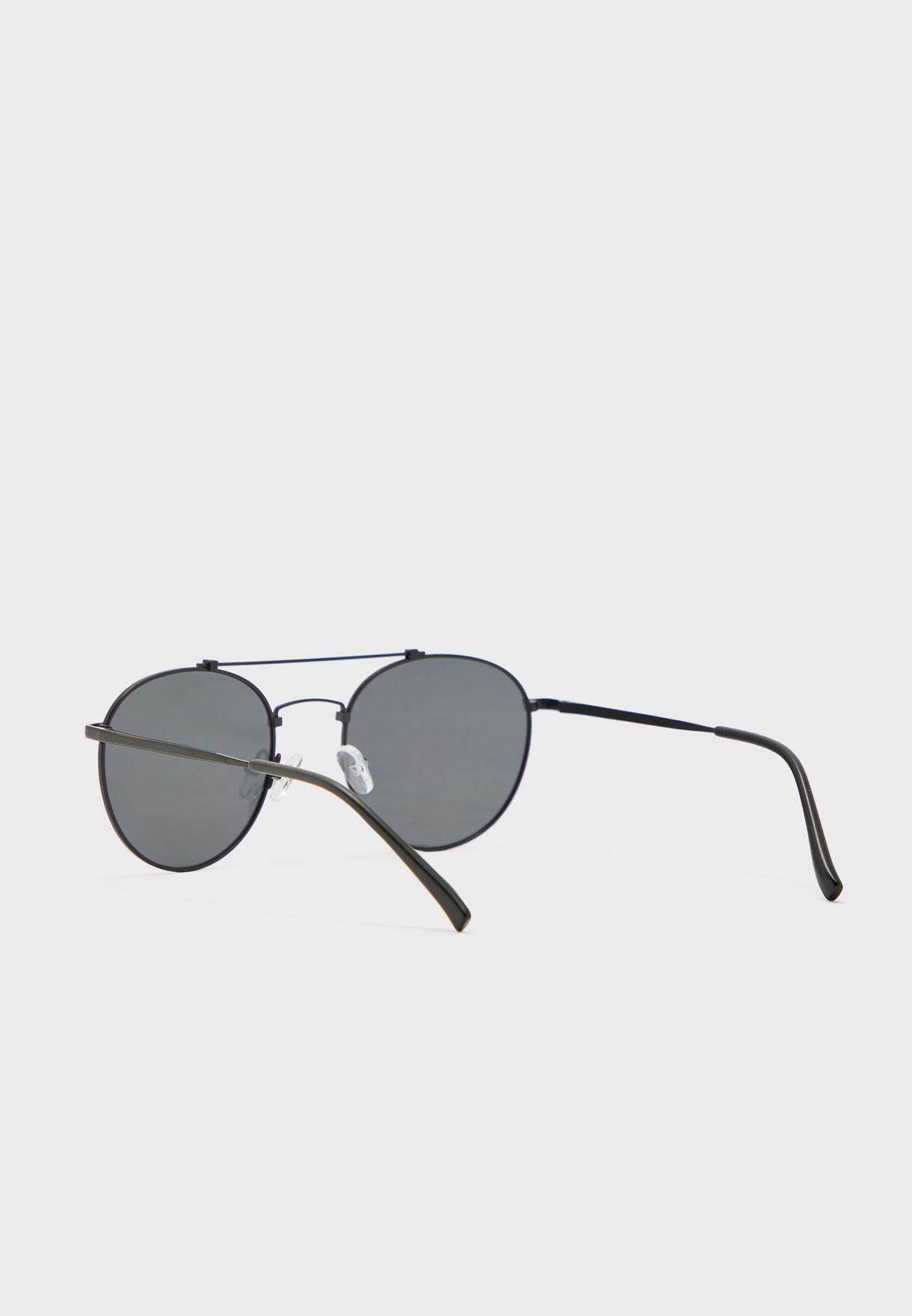 نظارة شمسية دائرية اطار معدني