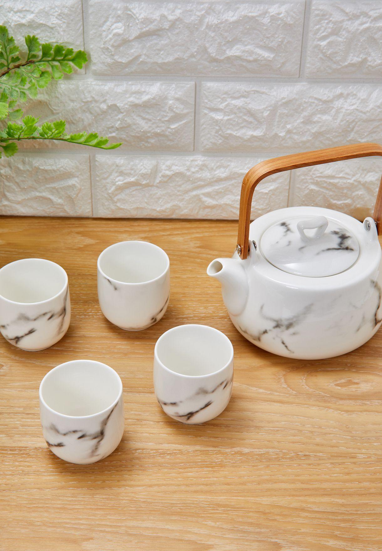 طقم شاي رخامي