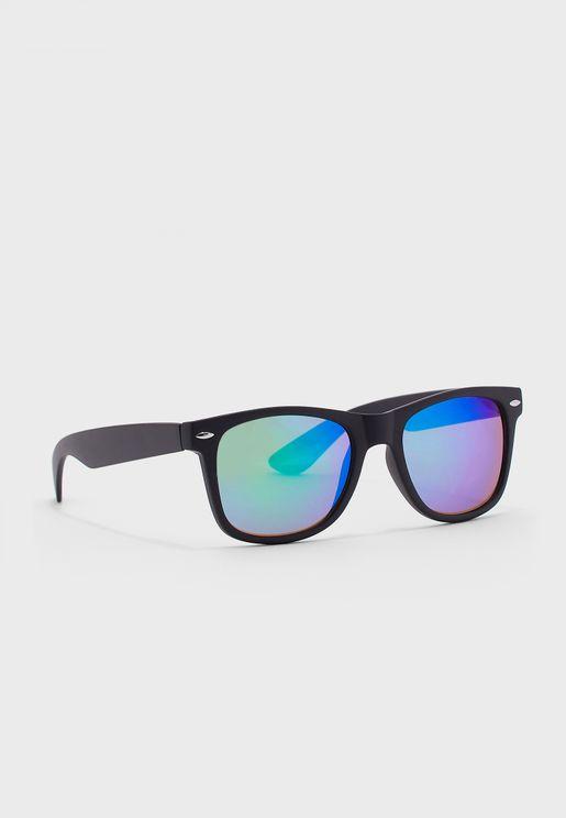 Matteo Retro Square Sunglasses