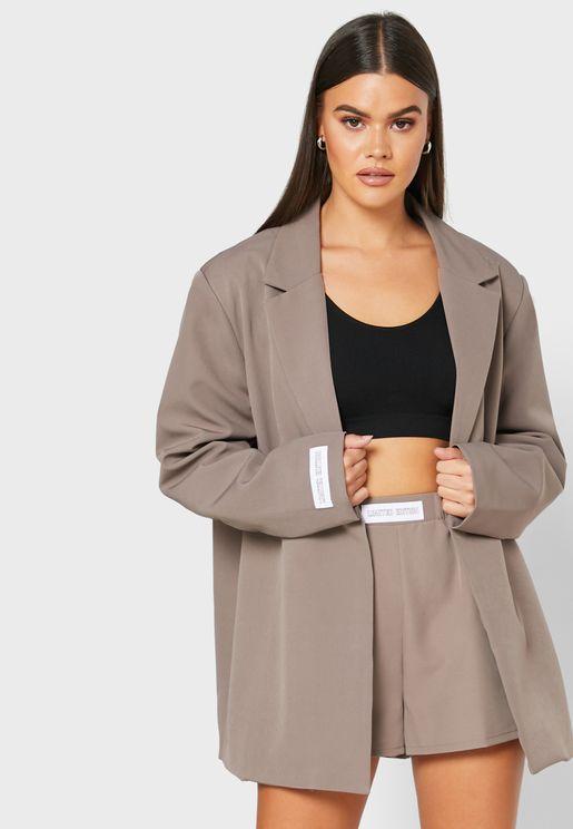 Oversized Tailored Blazer