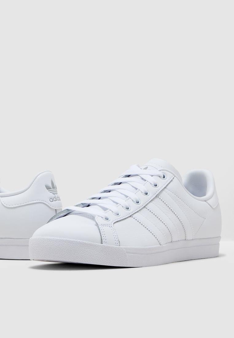 adidas coast star white mens