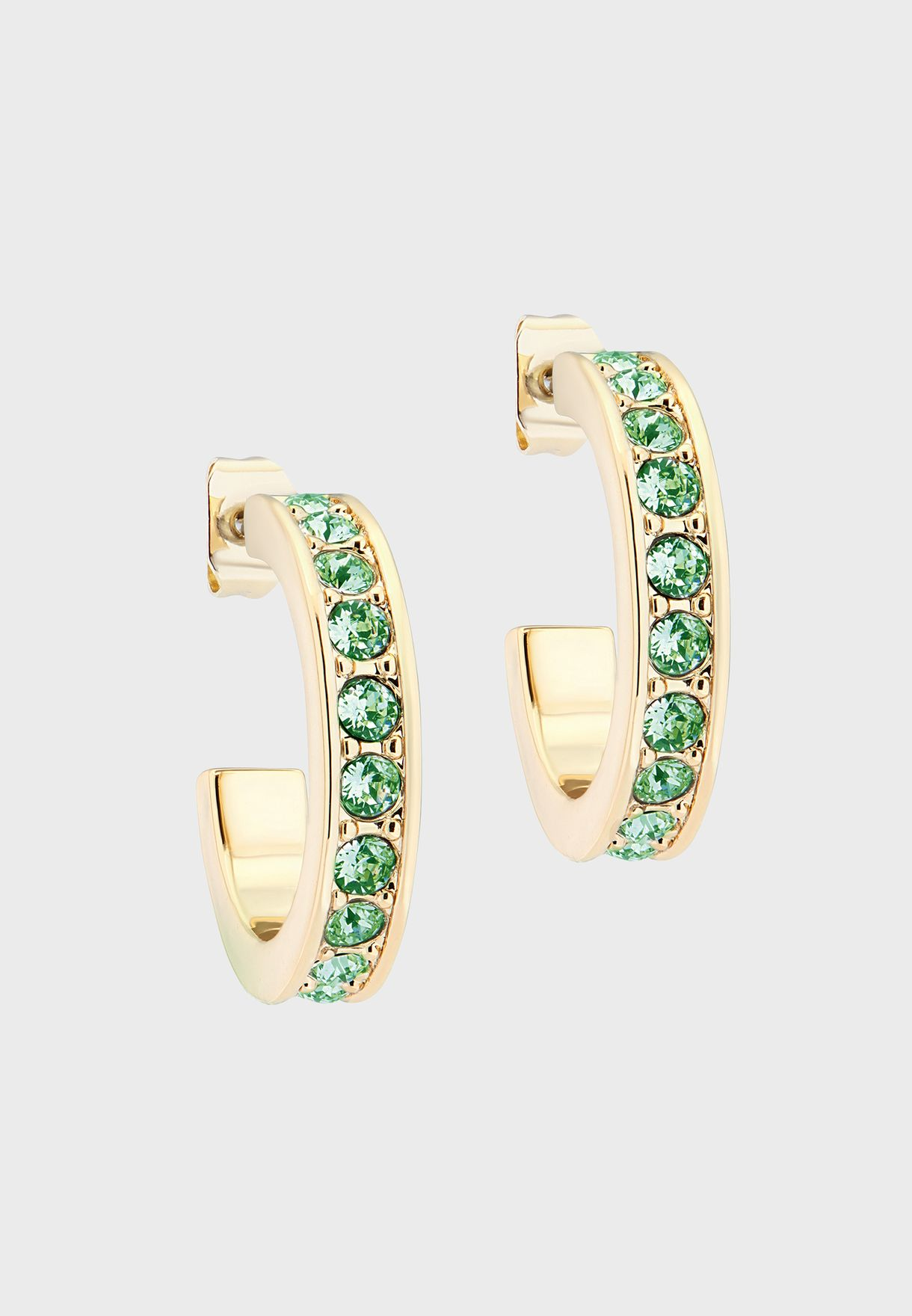 Seanna Small Crystal Hoop Earrings