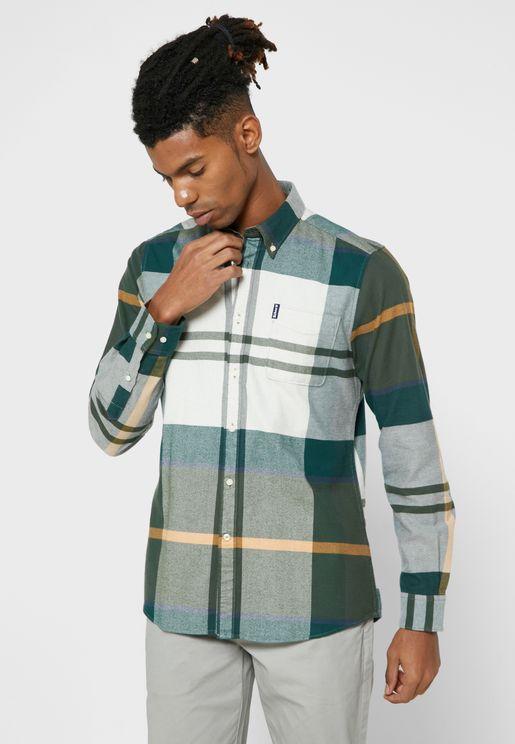 Tartan Checked Regular Fit Shirt